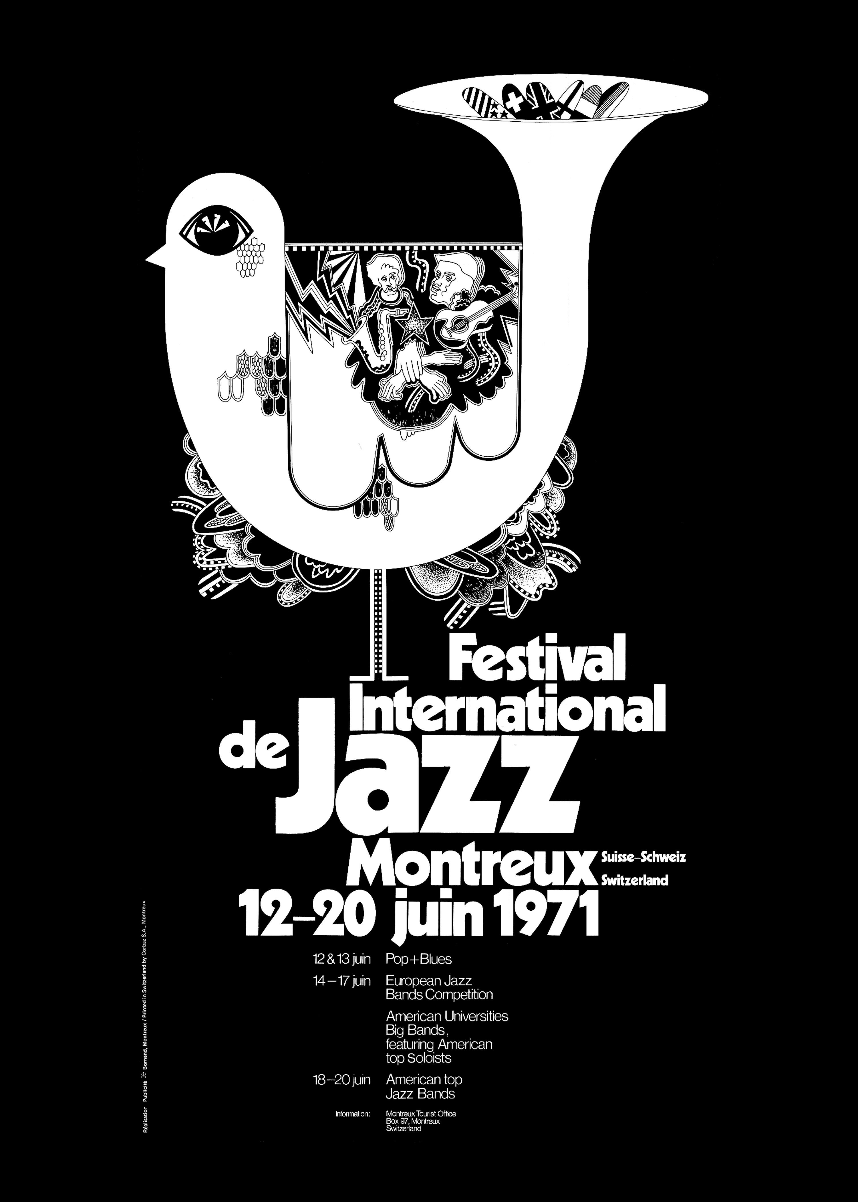 Montreux Jazz Festival 2015 >> Official Posters   Montreux Jazz