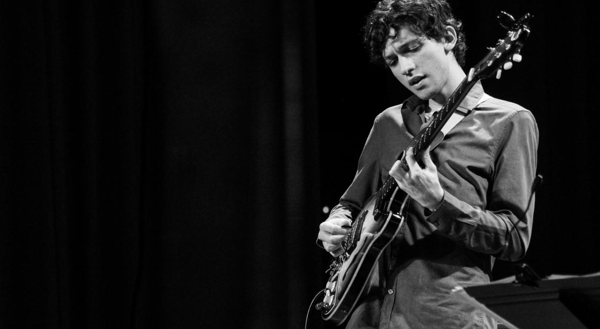 Brazil's Pedro Martins wins the Guitar Competition