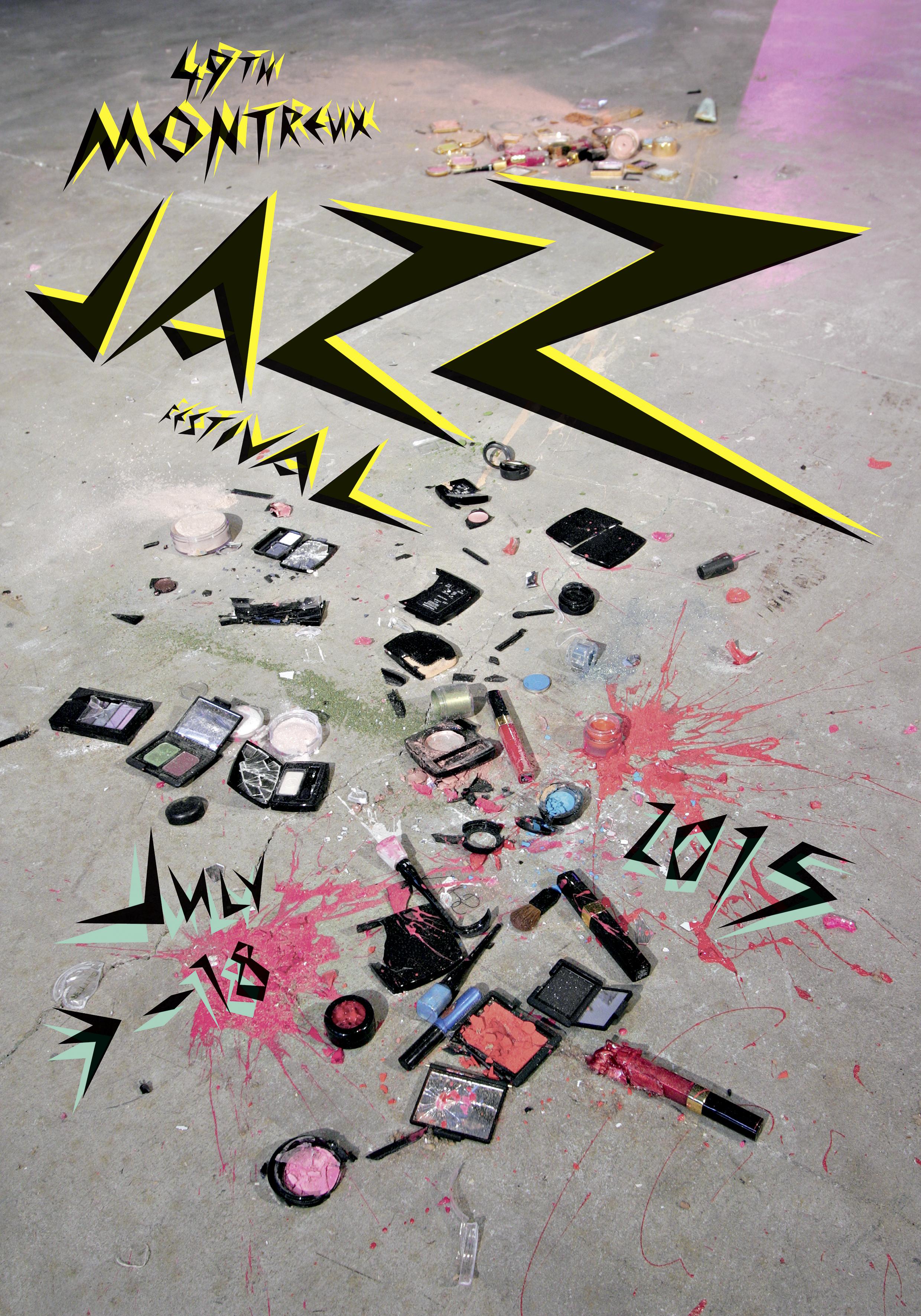 Montreux Jazz Festival 2015 >> An Explosion Of Color For The Montreux Jazz Festival Poster